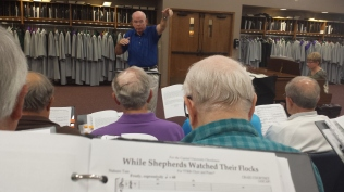 Rehearsal - Jim Kelly, Conductor